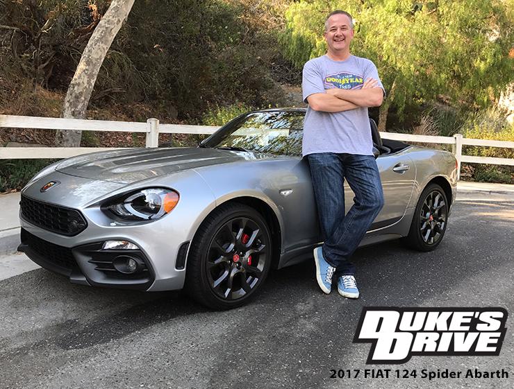 @chrisduketv's cover photo for 'Duke's Drive: 2017 FIAT 124 Spider Abarth Review - Chris Duke'