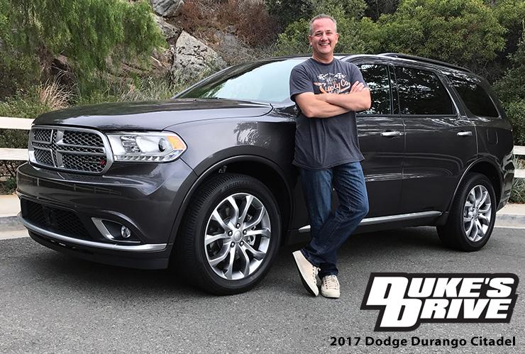 @chrisduketv's cover photo for 'Duke's Drive: 2017 Dodge Durango Citadel Platinum AWD Review - Chris Duke'