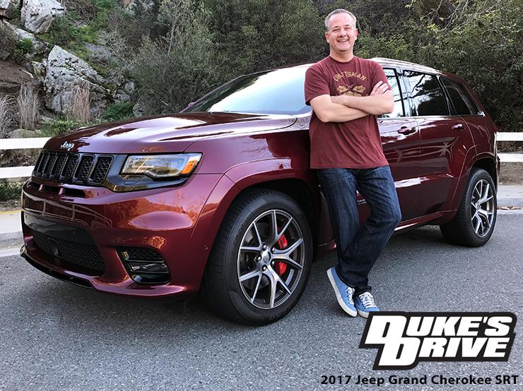 @chrisduketv's cover photo for 'Duke's Drive: 2017 Jeep Grand Cherokee SRT 4x4 Review - Chris Duke'