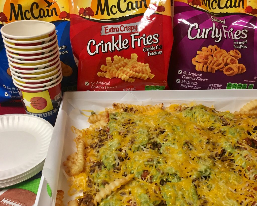 @thecinnamonmom's cover photo for 'Super Nacho Fries for Your Game Day Gathering •'