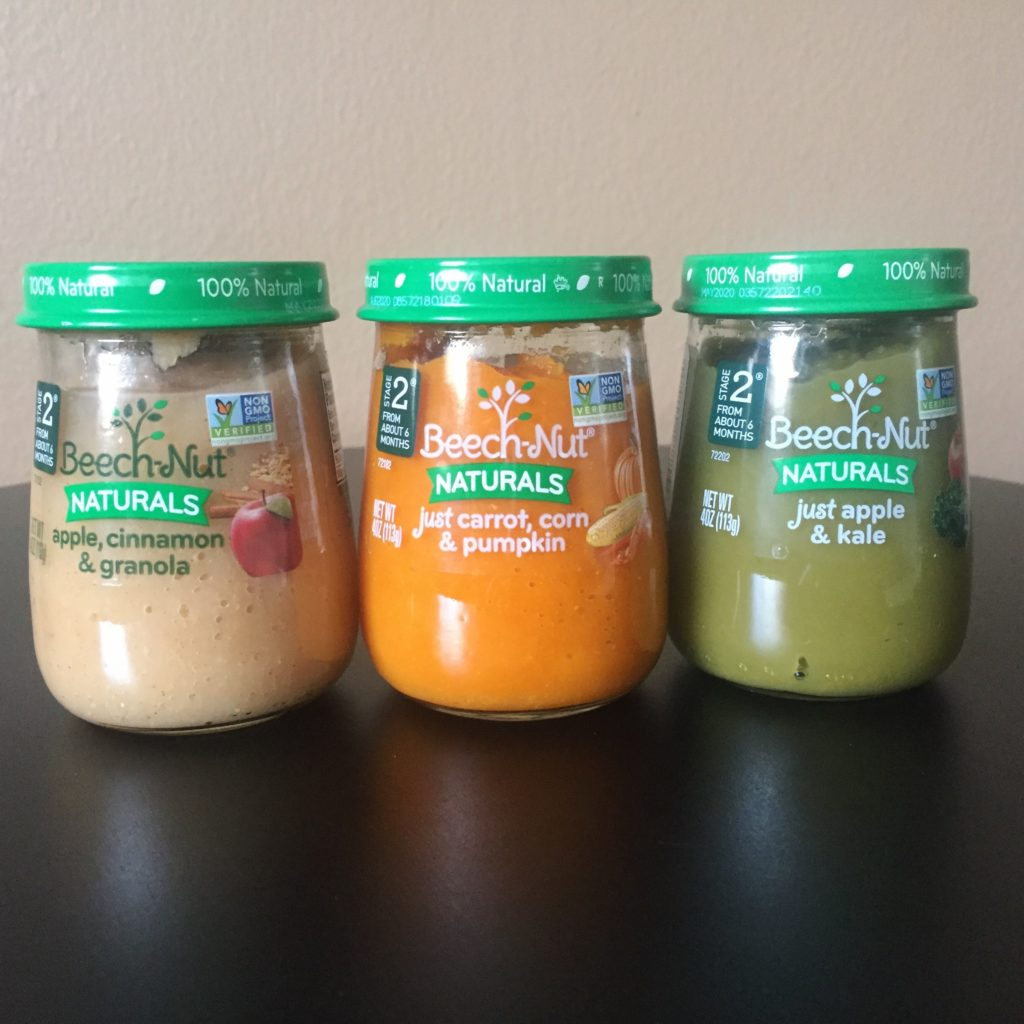 @thecinnamonmom's cover photo for 'Beech-Nut Naturals Are Real Food for Babies •'