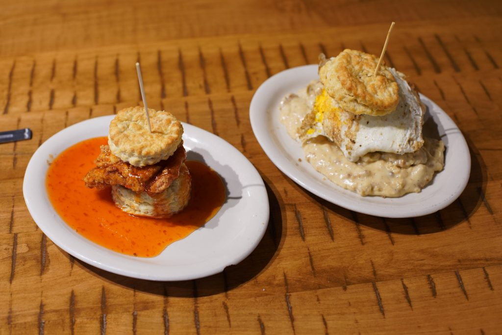 @sanityfound's cover photo for 'Southern Goodness meets St Pete at Maple Street Biscuit Co. | Sanityfound'