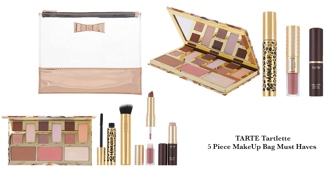 @puregoddessuniversity's cover photo for 'Tarte Tartelette 5 Piece Makeup Bag Must Haves- Review - Puregoddess University'