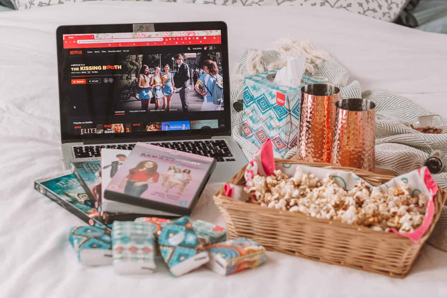@whatshotblog's cover photo for 'The Ultimate List of Winter Movie Night Essentials'
