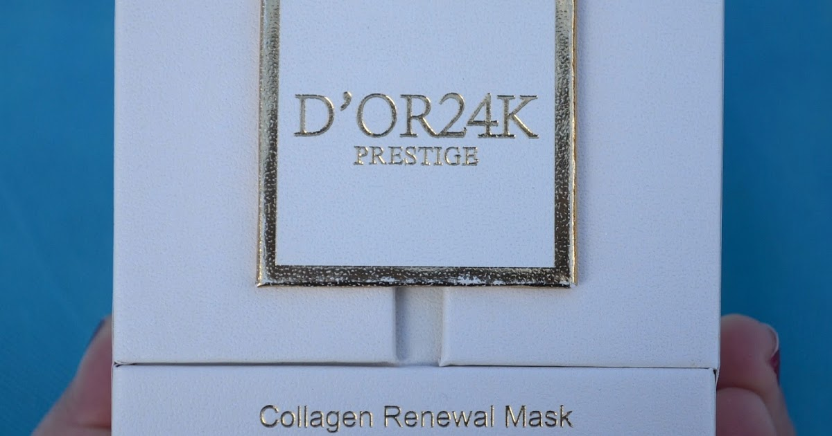 @runningandwineing's cover photo for 'The Best of the Best  - D'OR24K 24K Collagen Renewal Mask Product Review'