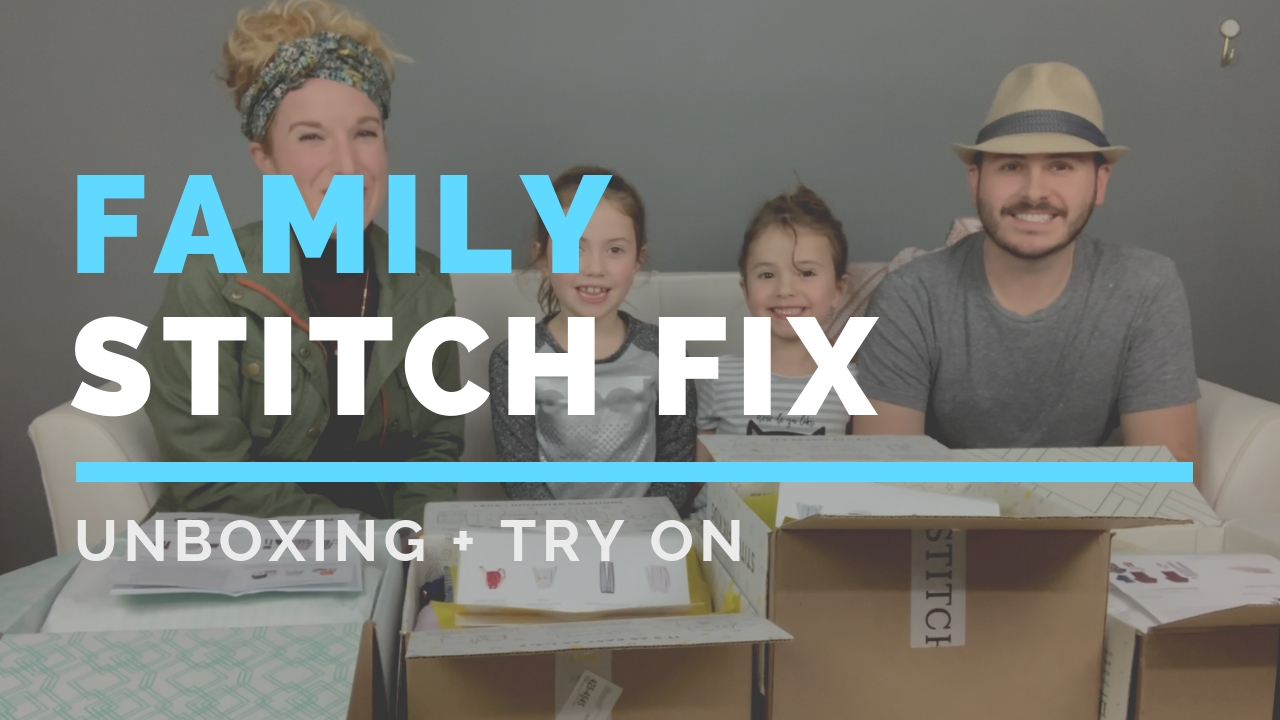 @thepinkenvelope's cover photo for 'Family Stitch Fix Unboxing - The Pink Envelope'