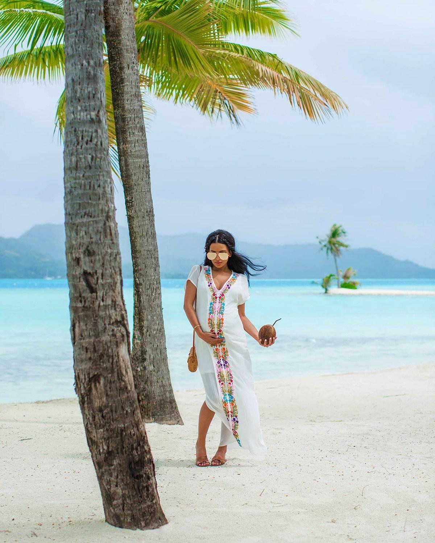 @irenesarah's cover photo for 'Four Seasons Resort Bora Bora | Babymoon Travel Diary'