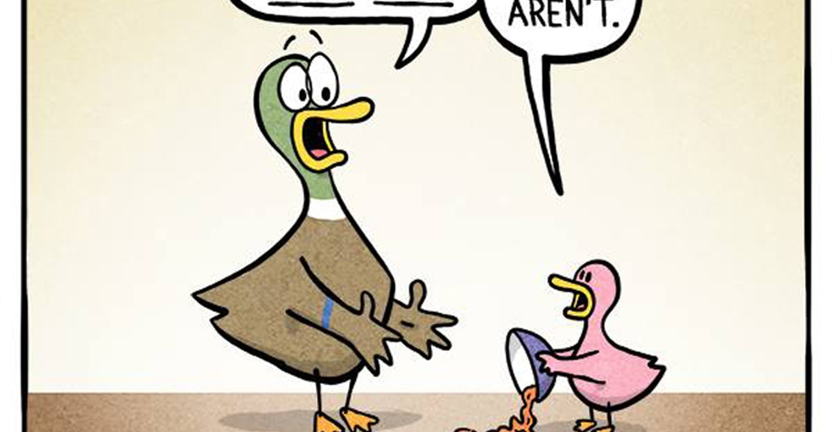 @fowllanguagecomics's cover photo for '15 hilarious parenting comics that are almost too real.'