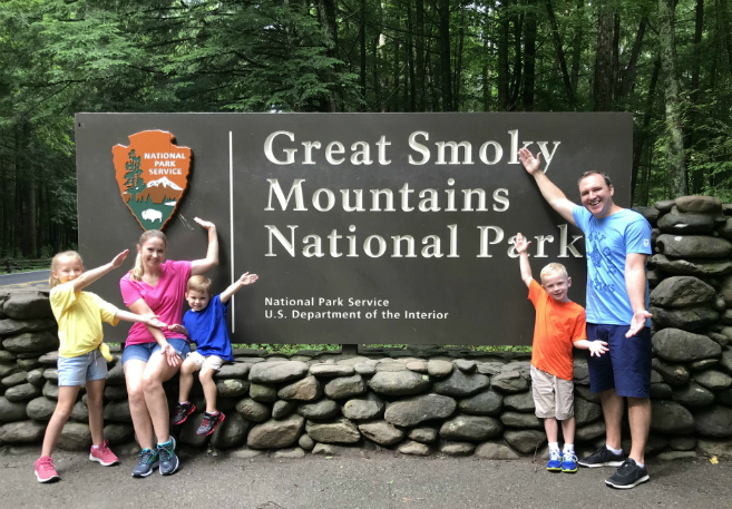 @parentnormal's cover photo for 'Our Home in the Clouds at Great Smoky Mountains National Park - The ParentNormal'