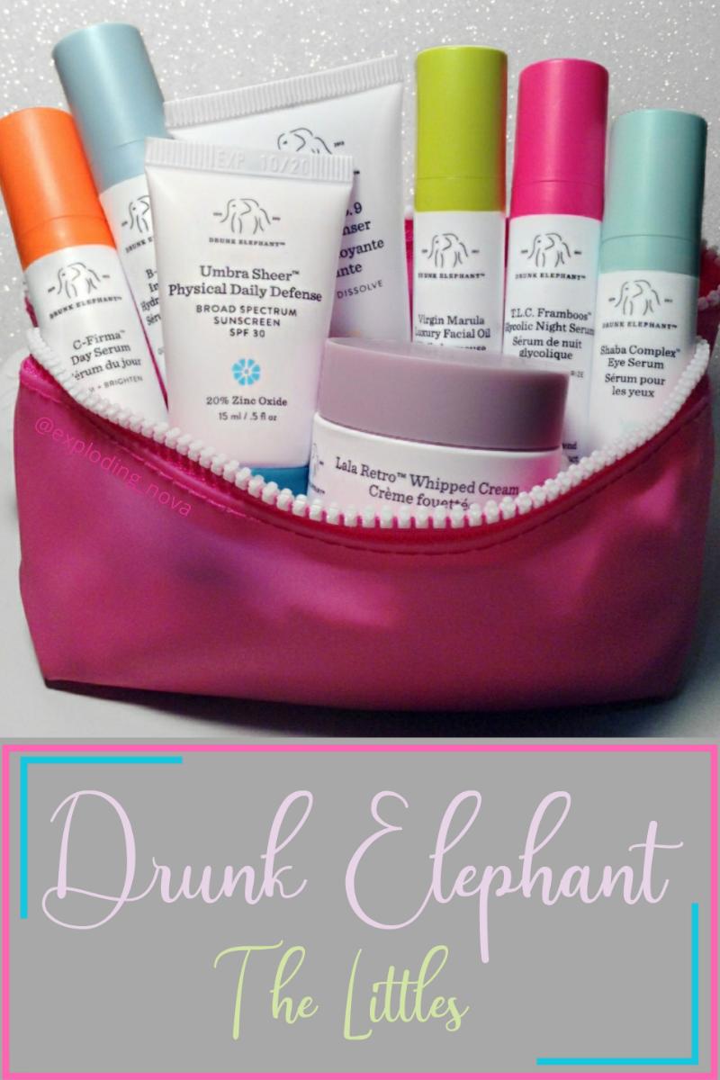 @exploding_nova's cover photo for 'Drunk Elephant Skincare: The Littles'