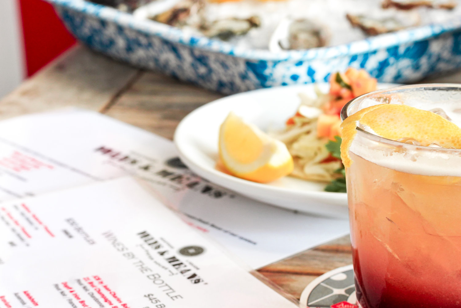 @stylebyjulianne's cover photo for 'Lunch at Ways & Means Oyster House!'