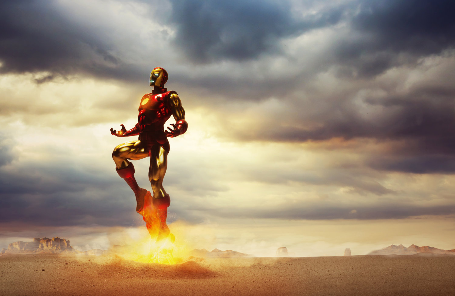 @isaacalvarezraw's cover photo for 'Creating Iron Man'