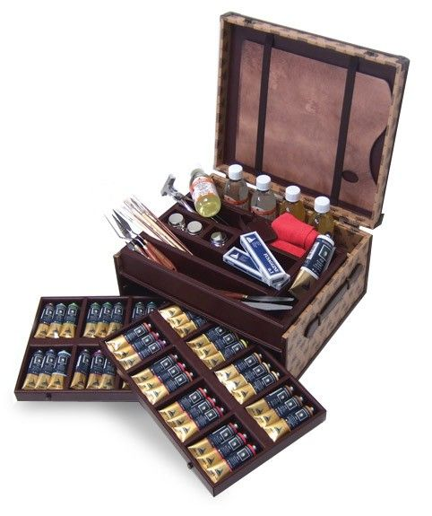 @maryannechisholmartist's cover photo for 'Maimeri Puro Oil Painting Vintage Luxury Box Set - Jerry's Artarama | Premium Art Supplies and Suppliers in 2019 | Painting, Art, Discount art supplies'