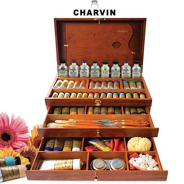 @maryannechisholmartist's cover photo for 'Charvin Extra Fine Professional Oil Painting Sets - Jerry's Artarama | Premium Art Supplies and Suppliers'