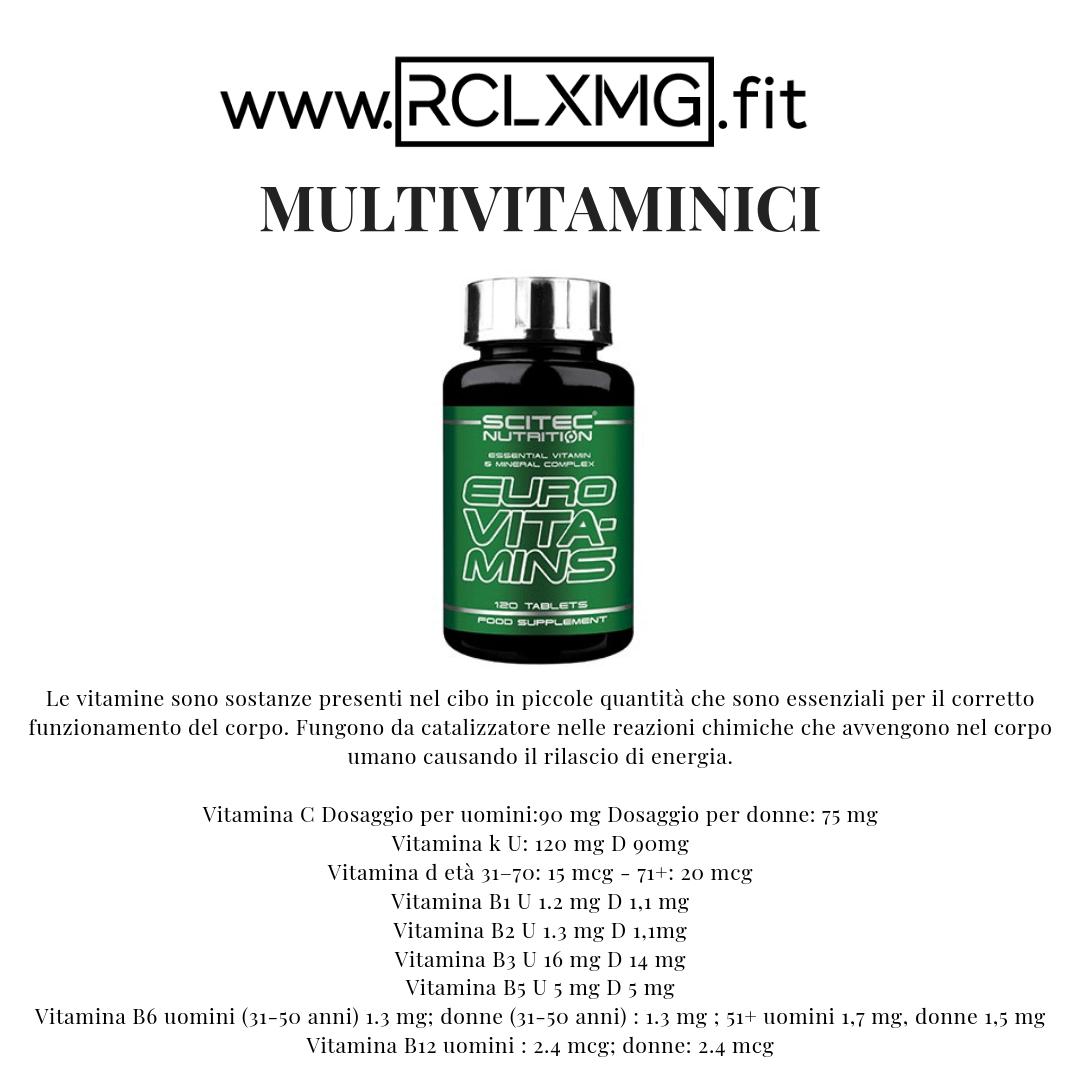 @rclxmg's cover photo for 'Usi, benefici e dosaggi europei consigliati, delle principali vitamine'