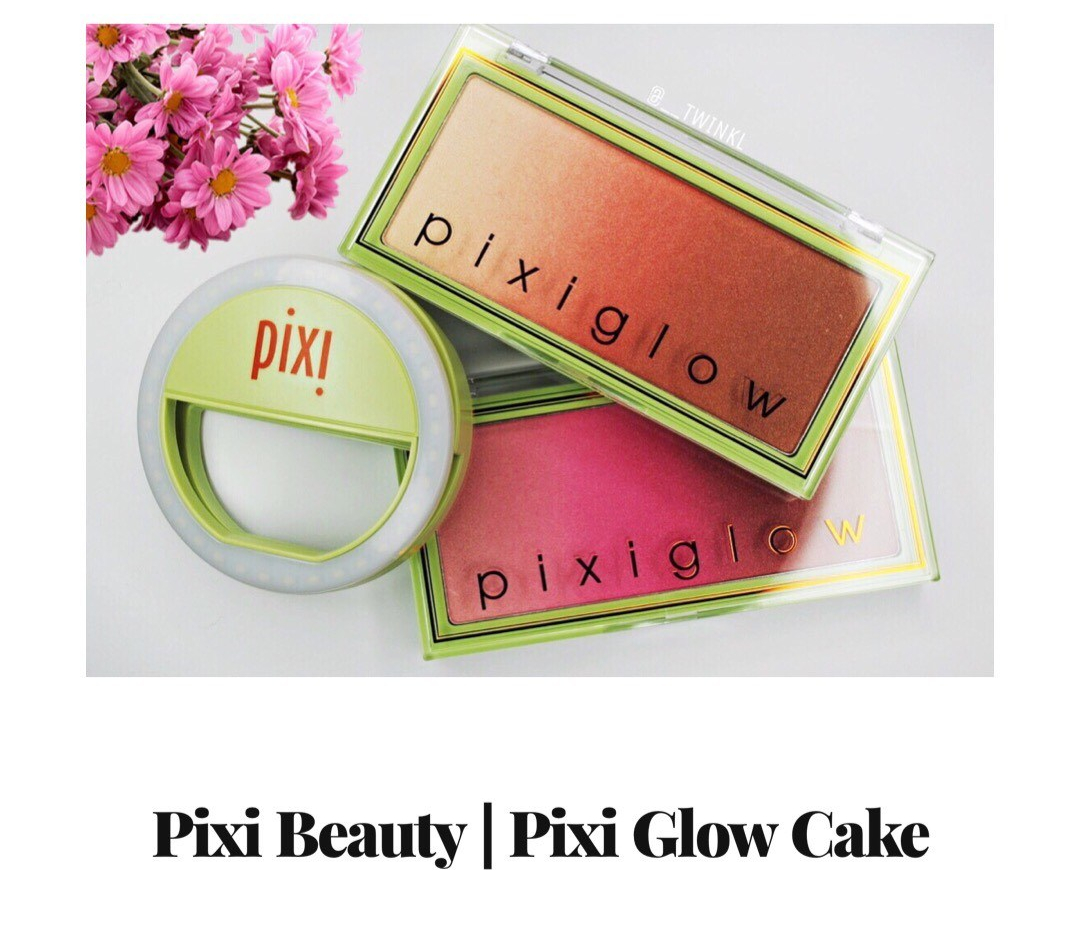 @twinklbeauty's cover photo for 'Product Review | Pixi Glow Cakes'