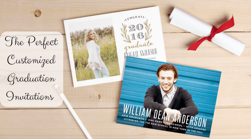 @modernsmalltownmama's cover photo for 'The Perfect Customized Graduation Invitations and More -'