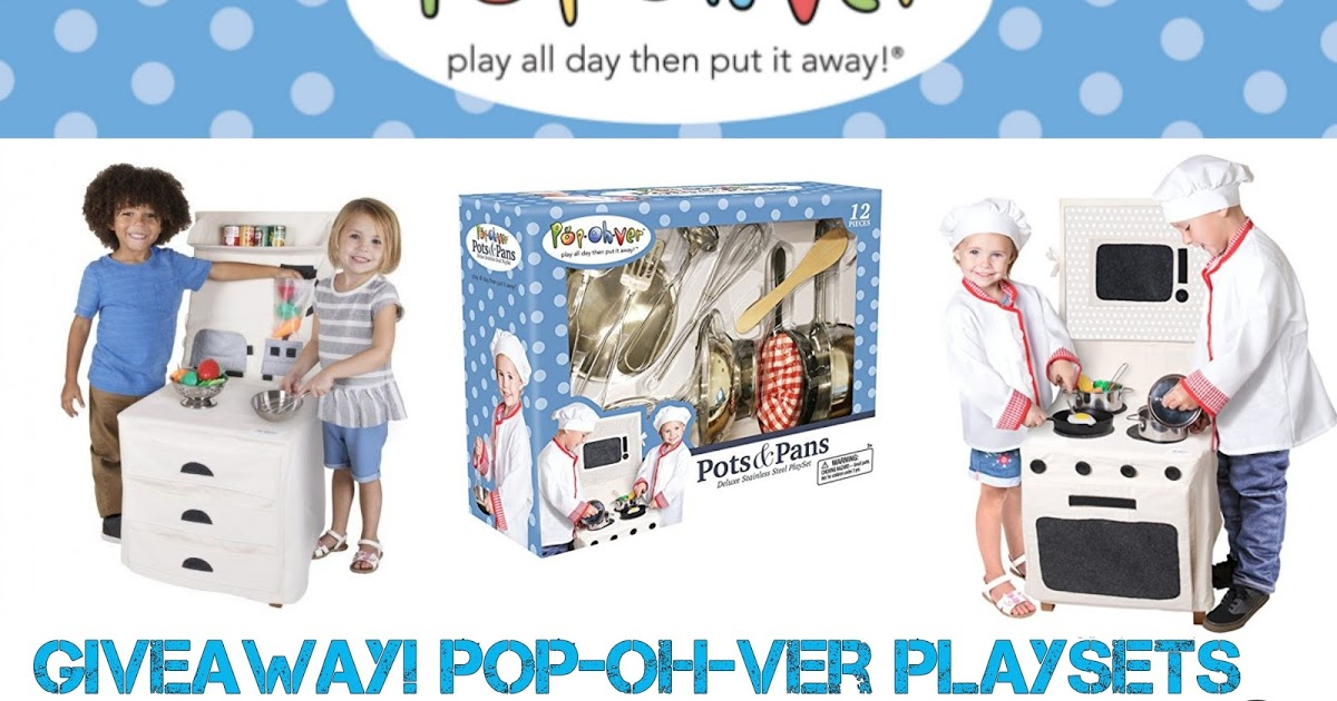@tiffanyaytes's cover photo for 'Pop Oh Ver: Fun without the clutter! PLUS Enter to win Pop Oh Ver Sets and a $50 Amazon Gift Card Giveaway!'