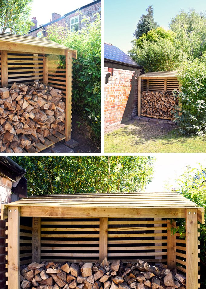 @littlehouseonthecorner's cover photo for 'How To Build A Log Store'