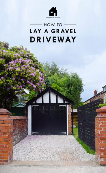 @littlehouseonthecorner's cover photo for 'DIY Guide: How To Lay A Gravel Driveway'