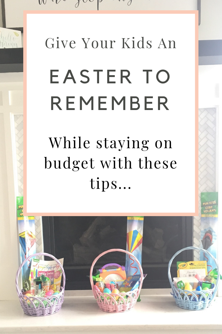 @sweetfrugallife's cover photo for 'Dollar Tree Easter Basket Ideas - Sweet Frugal Life'