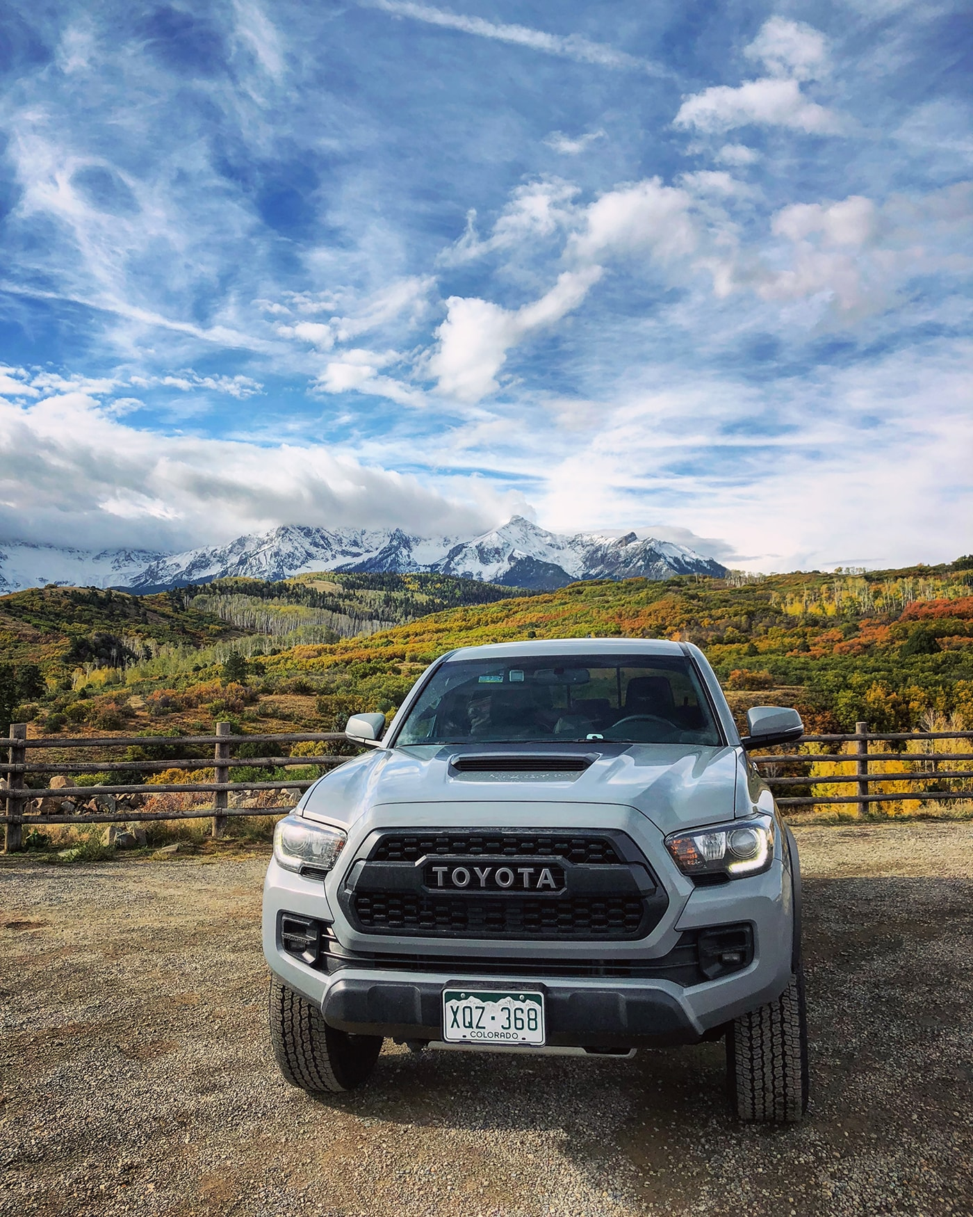 @bluemountainbel's cover photo for 'Million Dollar Highway with Toyota'