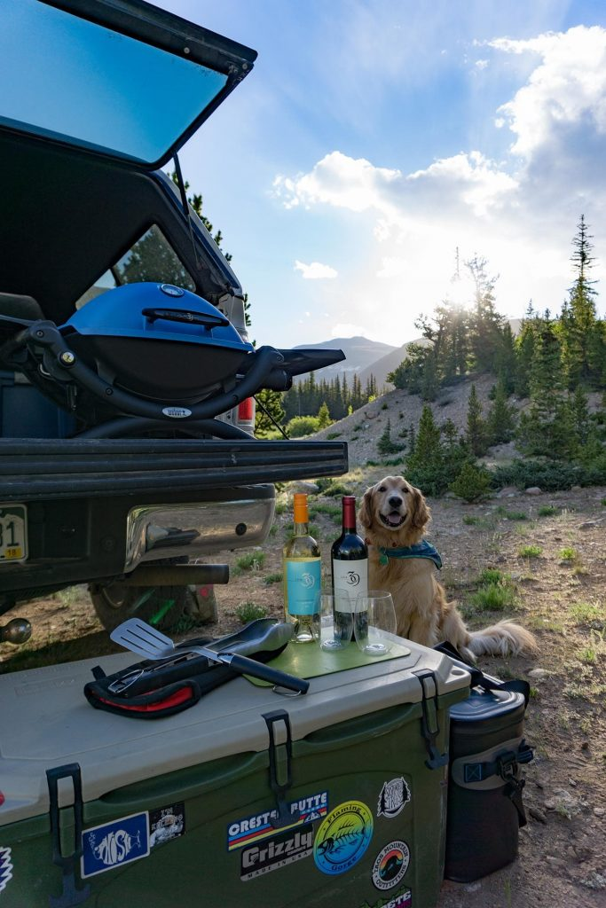 @bluemountainbel's cover photo for 'The Four Tenets to Car Camping with Line39 Wines'