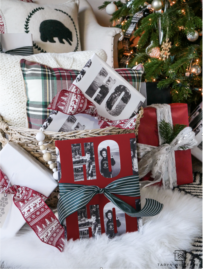 @tarynwhiteaker_designs's cover photo for 'Personalized Christmas Wrapping Paper - Taryn Whiteaker'