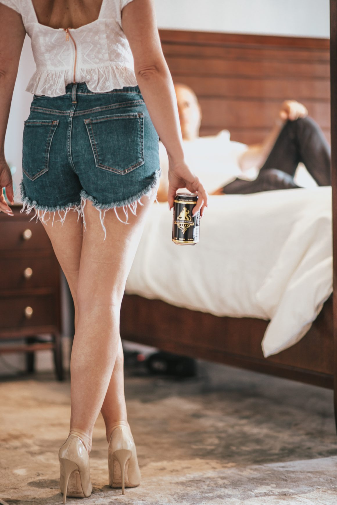 @elle.muse.journal's cover photo for 'Beer N' Boudoir For Papi - Elle Muse'