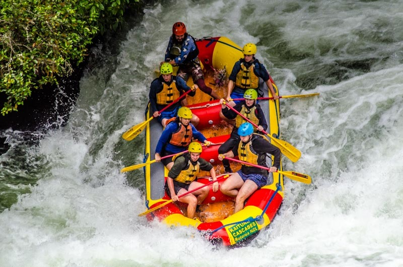 @czech.theworld's cover photo for 'White Water Rafting on Kaituna River, Rotorua – New Zealand'