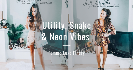 @holajoannekennedy's cover photo for 'Hola Joanne: Utility, Snake & Neon Vibes   Femme Luxe Finery'