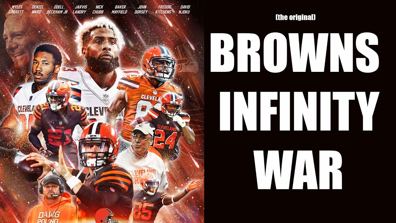 @browniepostgame's cover photo for 'Browns Infinity War'