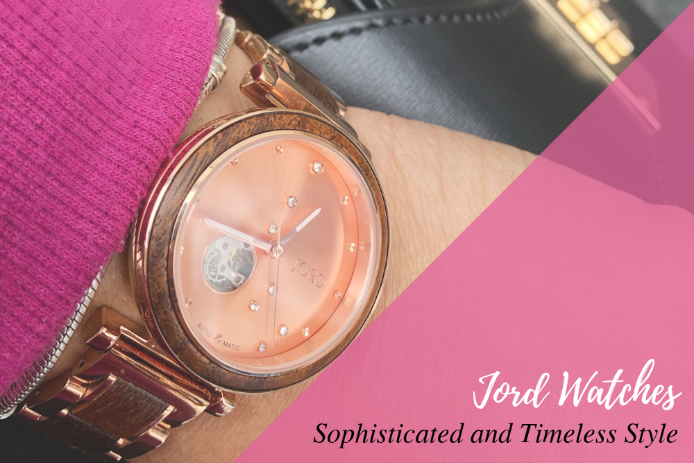 @lifeincouture's cover photo for 'Jord Watches: Sophisticated and Timeless Style'