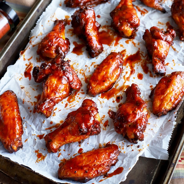 @cakenknife's cover photo for 'Spicy Sweet Grilled Cajun Wings For Game Day - Cake 'n Knife'