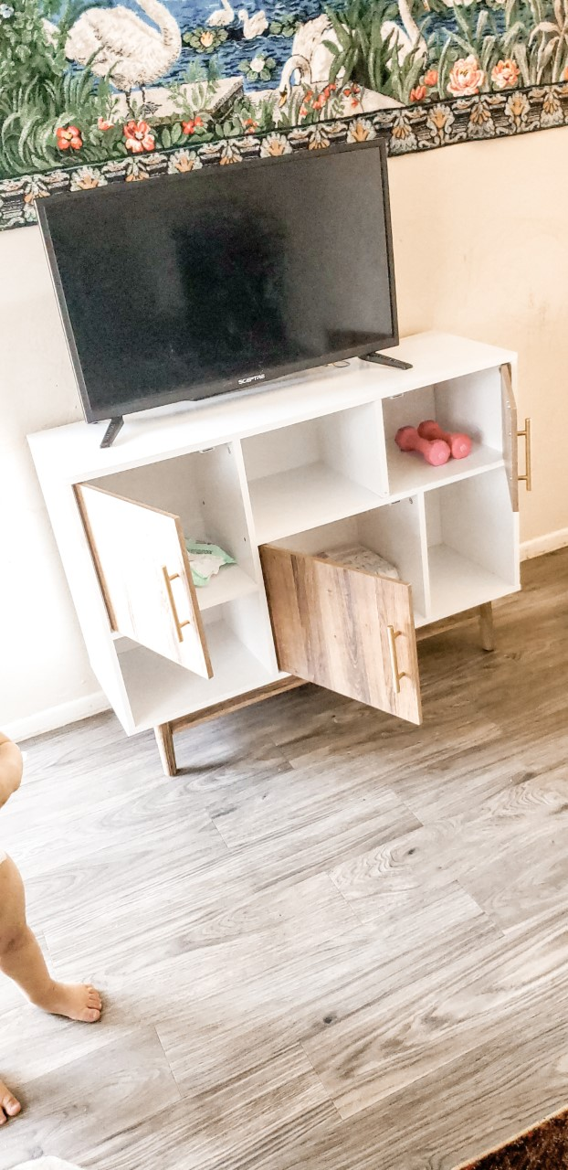 @beautymua.boymomx3's cover photo for 'Need A New TV Stand/Storage Unit?'