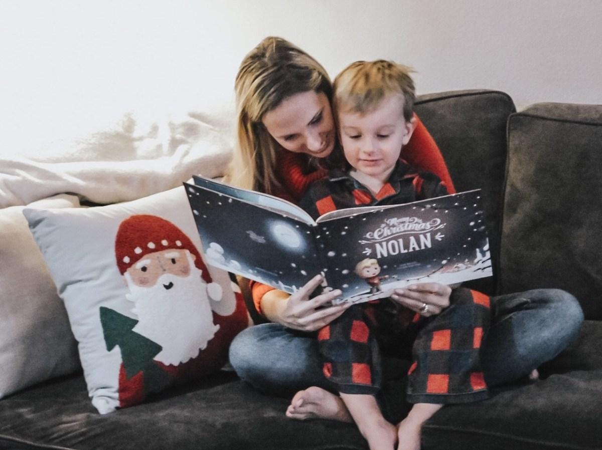 @stylishly.steph's cover photo for 'Hooray Heroes Personalized Book for Christmas'