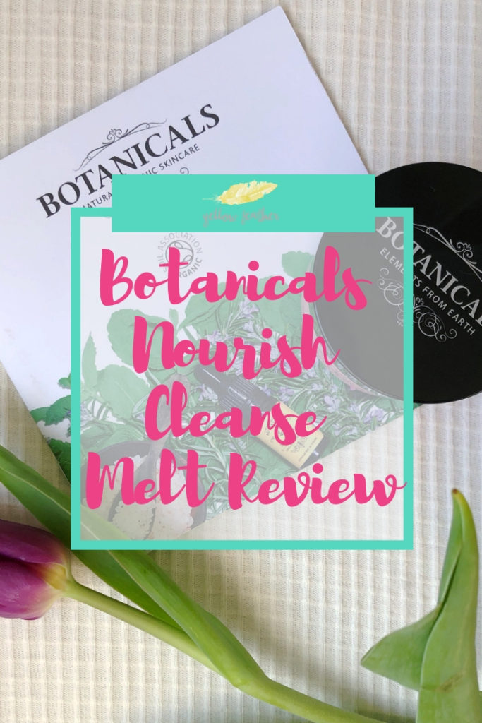 @sarah_walker2101's cover photo for 'Botanicals Nourish Cleanse Melt Review - Yellow Feather'