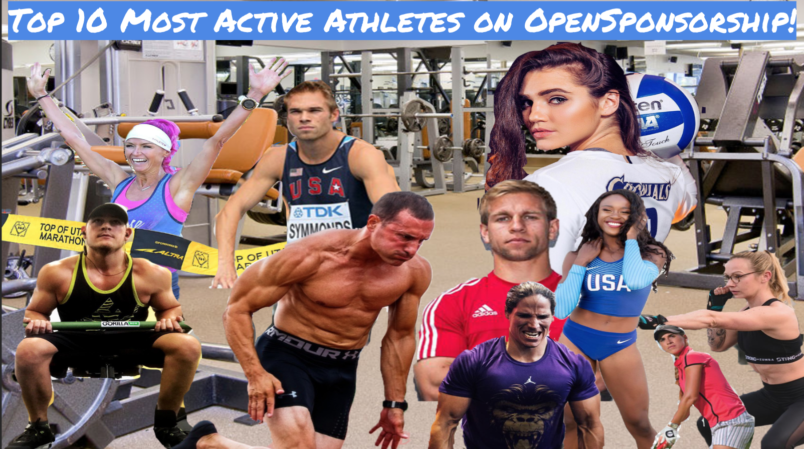 @brandonzingale's cover photo for '10 Most Active Athletes on OpenSponsorship'