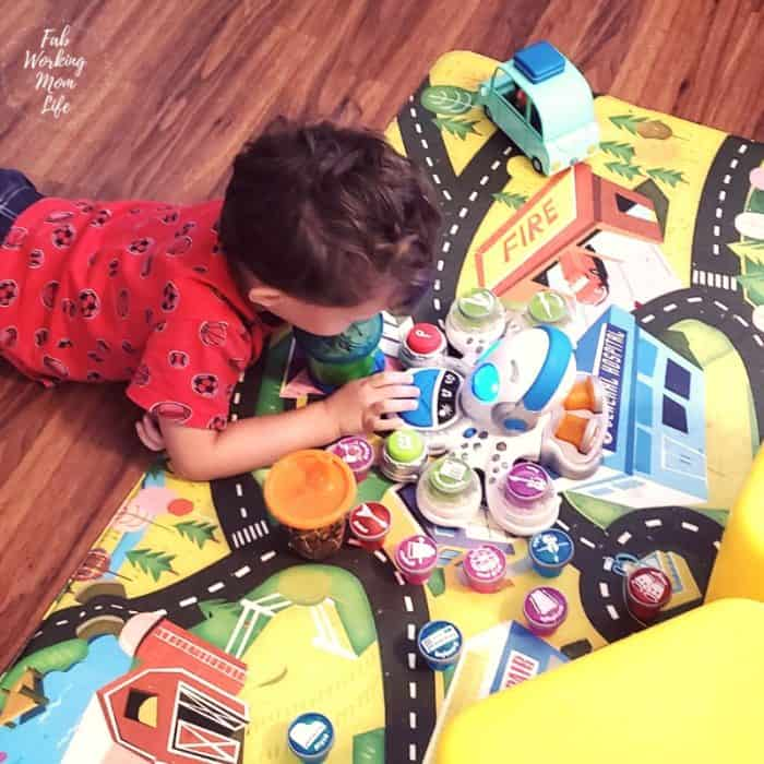 @fabworkingmomjulie's cover photo for 'Music and Math Fun with Think & Learn Rocktopus, the Perfect Gift for Preschoolers - Fab Working Mom Life'