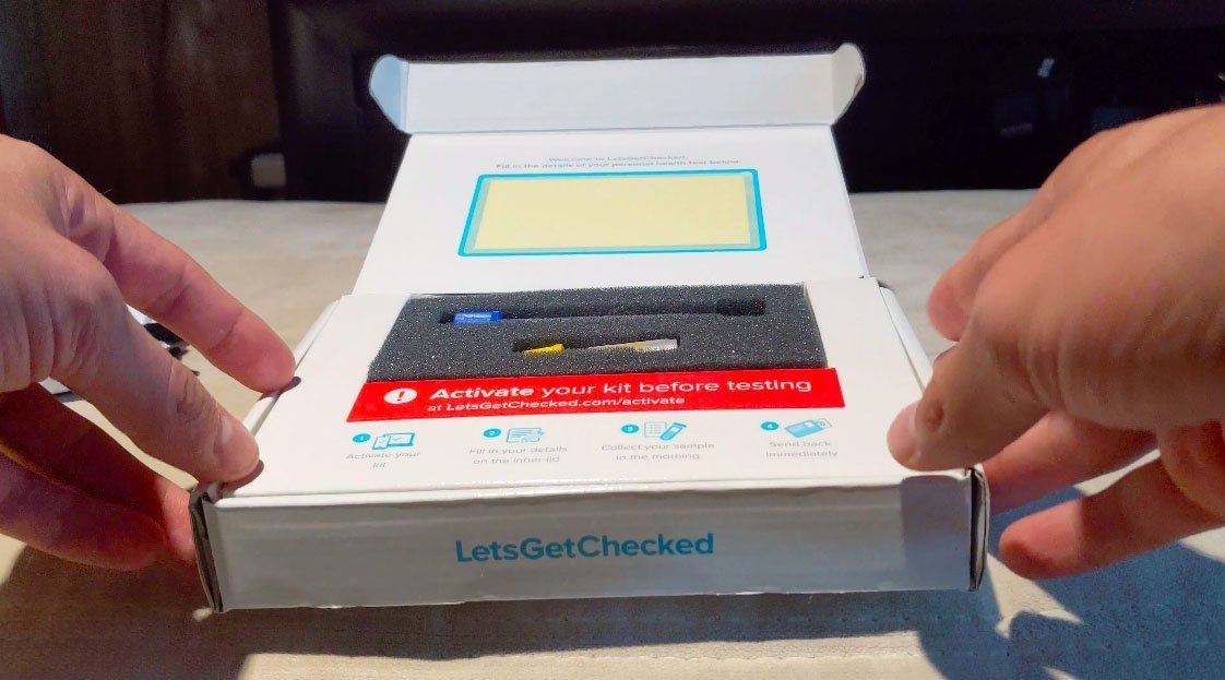 @thegaytripper's cover photo for 'REVIEW: LetsGetChecked At Home STD Test Kit'