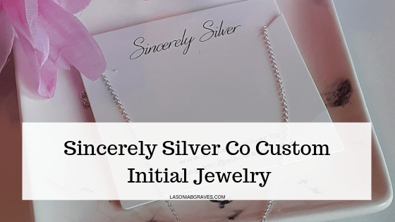 @imlasonia's cover photo for 'Sincerely Silver Co Custom Initial Jewelry - Lasonia B. Graves'