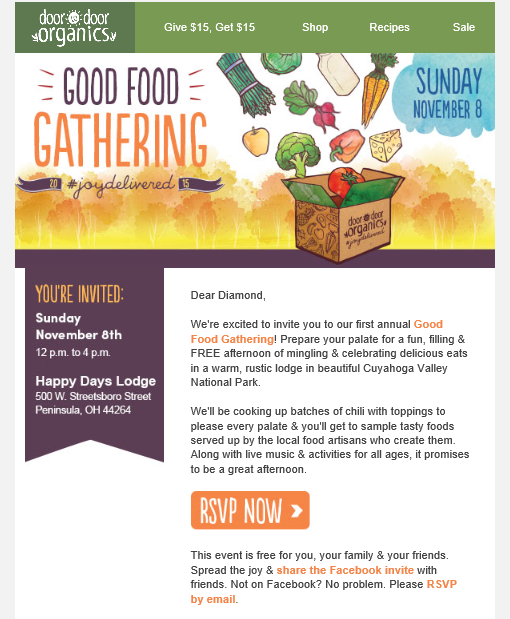 @the1diamondlifestyle_blog's cover photo for 'UPDATE: Good Food Gathering 2015!'