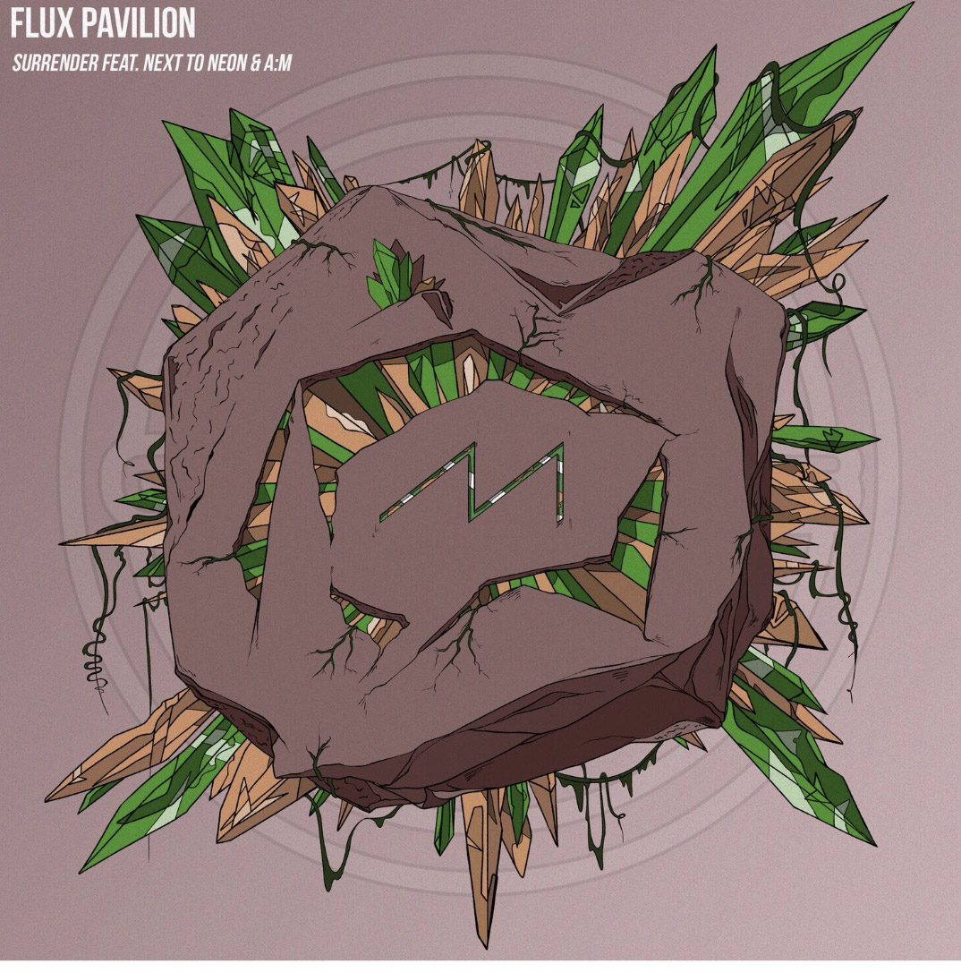 @edmsessionsrdio's cover photo for 'Flux Pavilion releases 'Surrender' ft. Next To Neon & A:M'