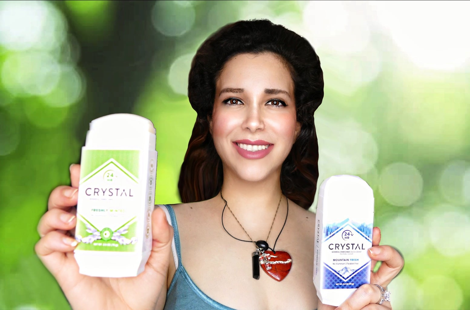 @maddyreviews's cover photo for 'Crystal Mineral Enriched Invisible Solid the Natural Deodorant Review'