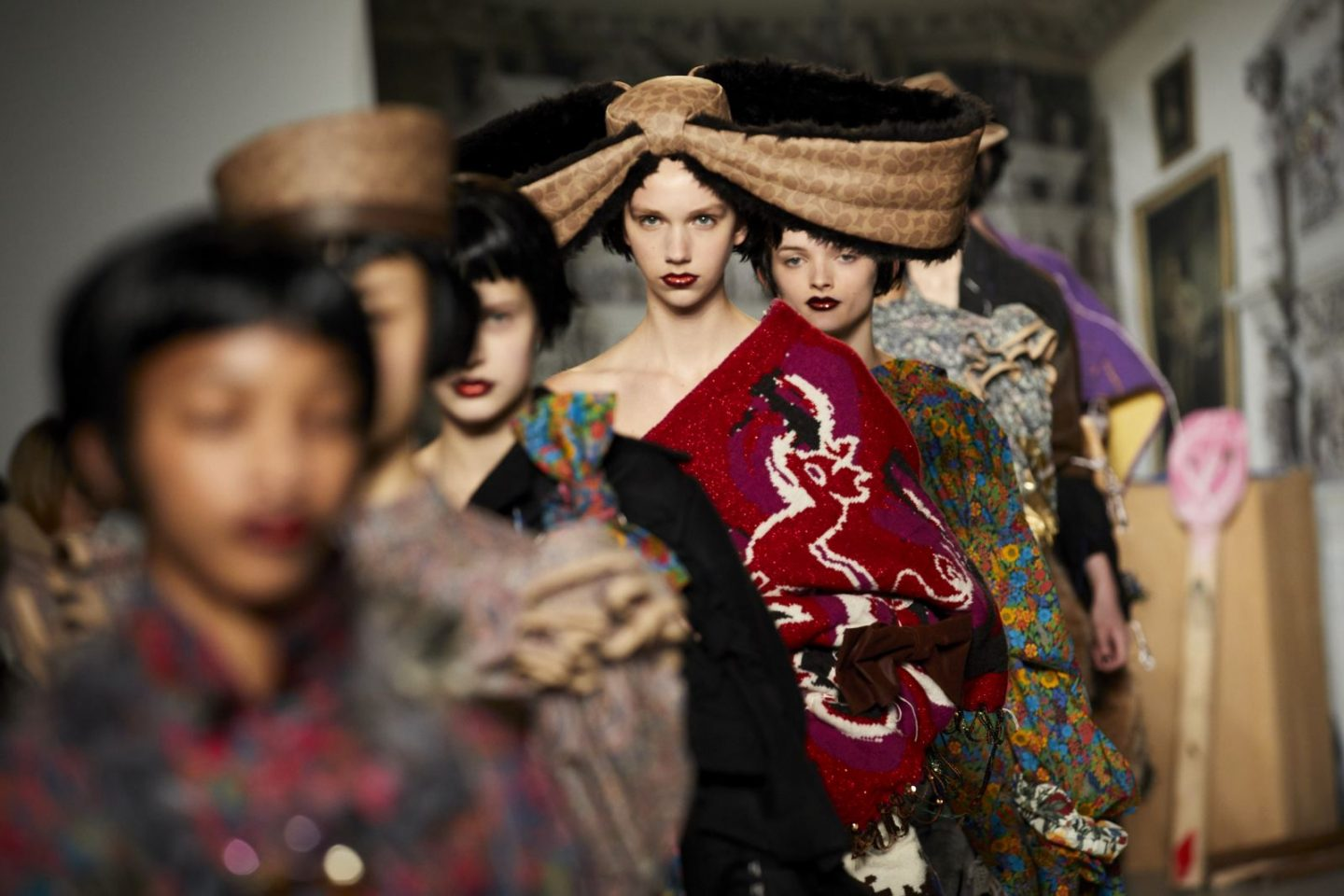 @pixietenenbaum's cover photo for 'Matty Bovan FW19 at London Fashion Week - Fashion Voyeur'