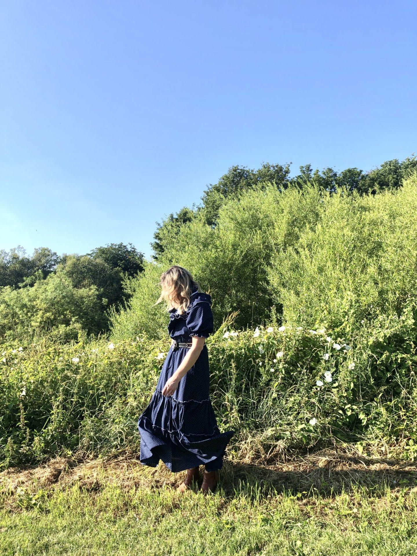 @pixietenenbaum's cover photo for 'What I Wore: Styling the Vintage Prairie Dress - Fashion Voyeur'