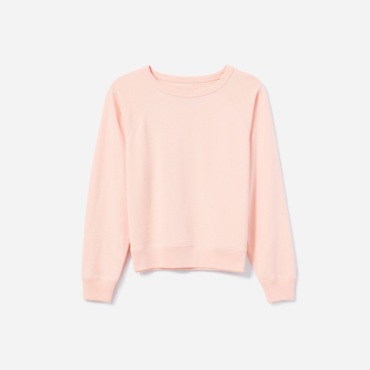 @poutineandprada's cover photo for 'Everlane review - french terry sweatshirt in pink Poutine and Prada'