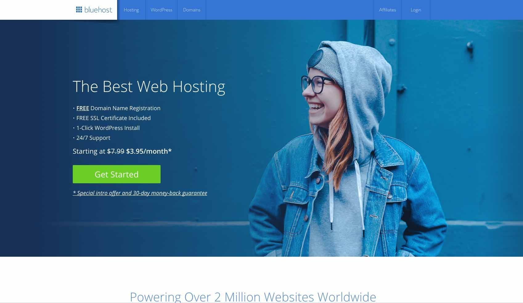 @economy_tribe_news's cover photo for 'Why Bluehost Is The Best Web Host For Your WordPress Blog - Economy Tribe'