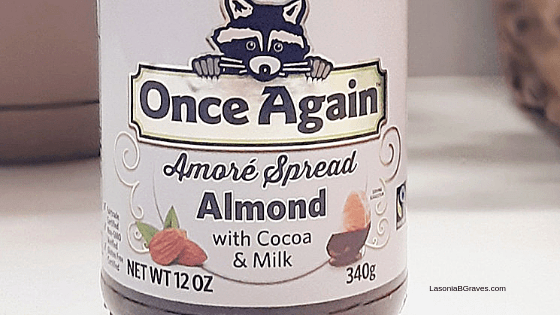 @imlasonia's cover photo for 'Review: Once Again Organic Amore Almond Spread With Milk Chocolate - Lasonia B. Graves'