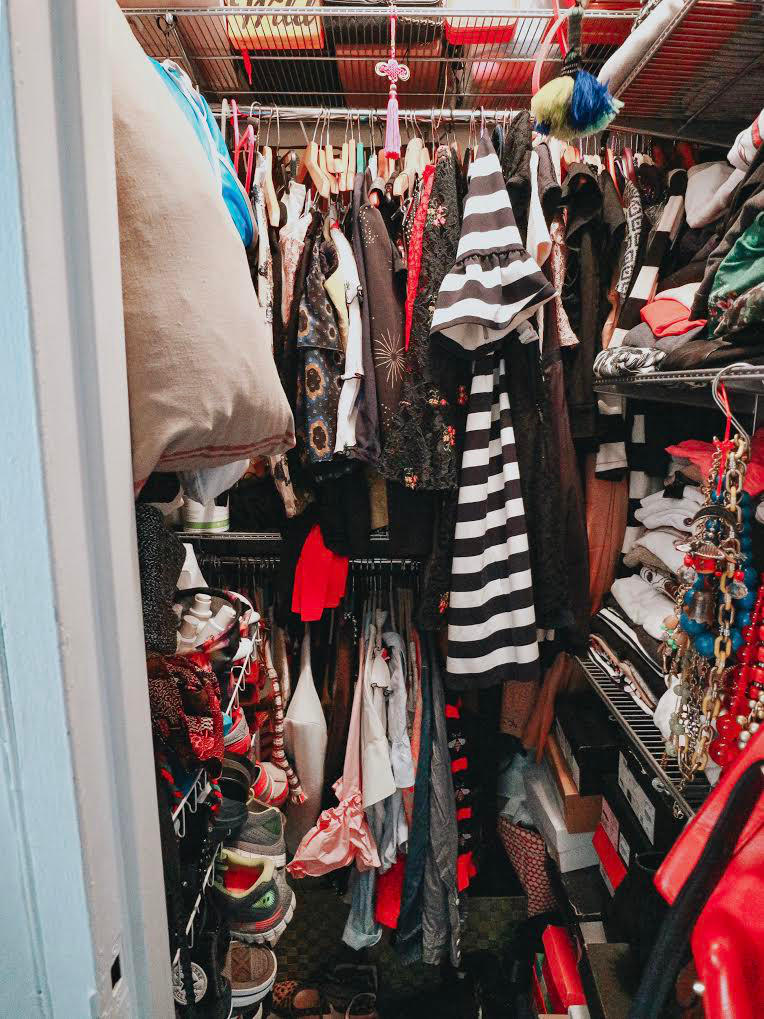 @tanika_nyclifestyle's cover photo for 'The Container Store - Closet Re-Organization'